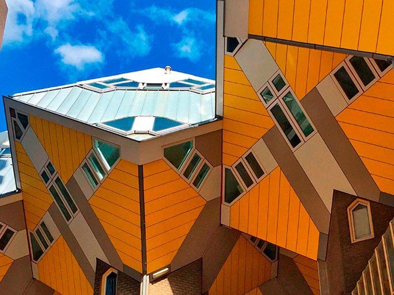 Casas cúbicas de Rotterdam, Países Bajos