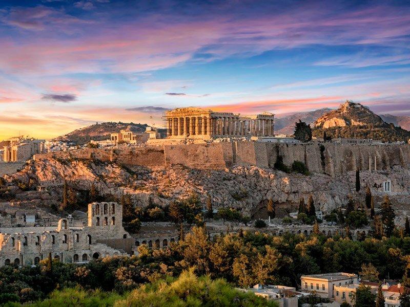 Visita de la Acrópolis de Atenas Virtual