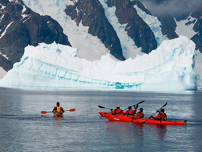 Visita virtual a la Antártida