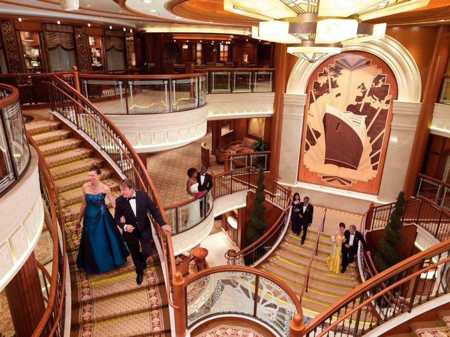 Interior Cunard - Queen Elizabeth