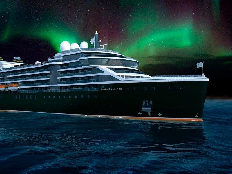 Seabourn Venture en Noruega