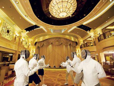 Clases de Esgrima - Cunard