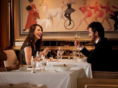 Restaurantes de especialidades. Cunard