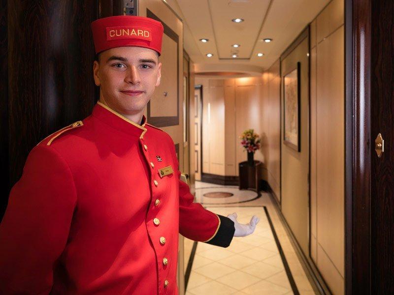 Cunard - Botones