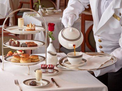 Hora del té, Cunard
