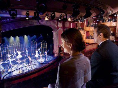 Shows nocturnos Cunard