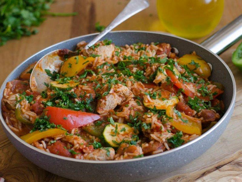 Jambalaya de Pollo