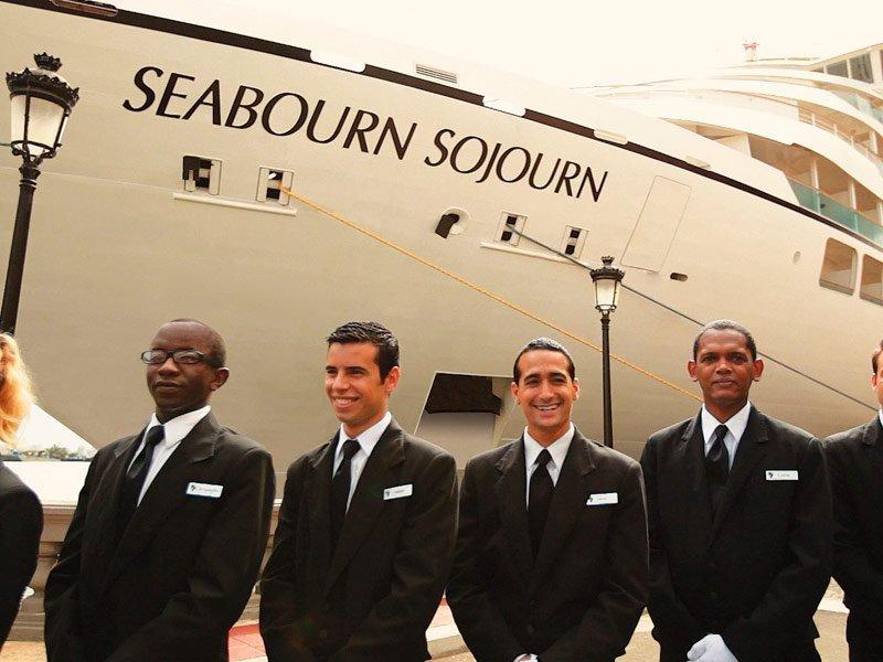Seabourn Sojourn - Vuelta al mundo