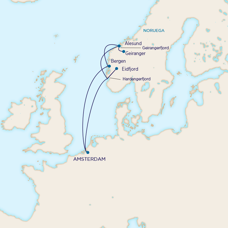 Leyendas Nórdicas - Holland America