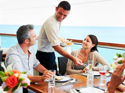 Comedor al aire libre - Seabourn