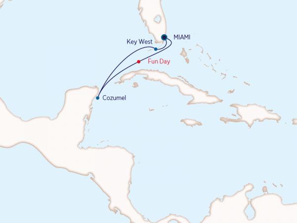 Carnival - Caribe - 4 noches México desde Miami