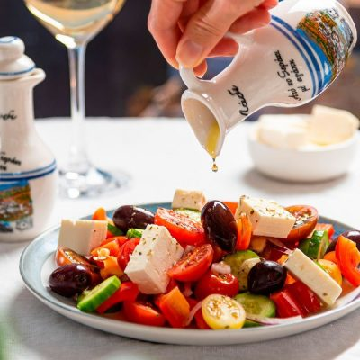 Disfrutando de los sabores de Grecia
