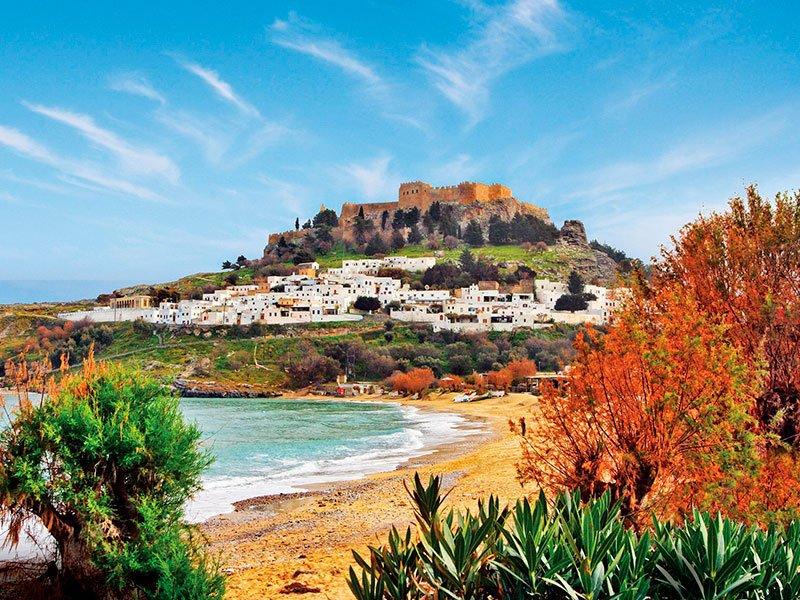 Lindos, Rodas, Grecia