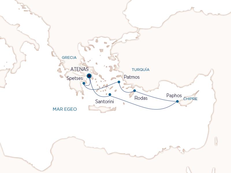 Grecia con Seabourn - Ruta Gemas del Egeo