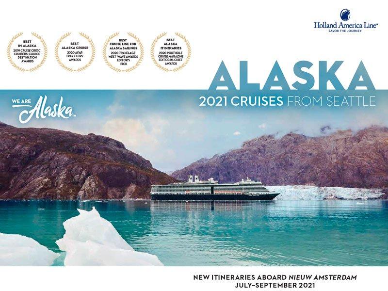 Holland America en Alaska 2021