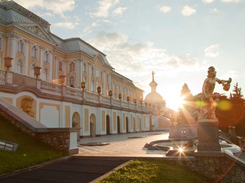 Visita de Peterhof, San Petersburgo