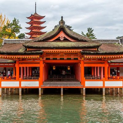 Visita a los templos de Miyajima