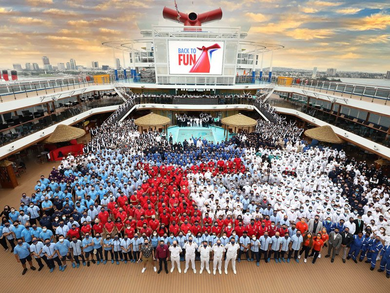 Carnival Panorama regresa a la costa Oeste de USA