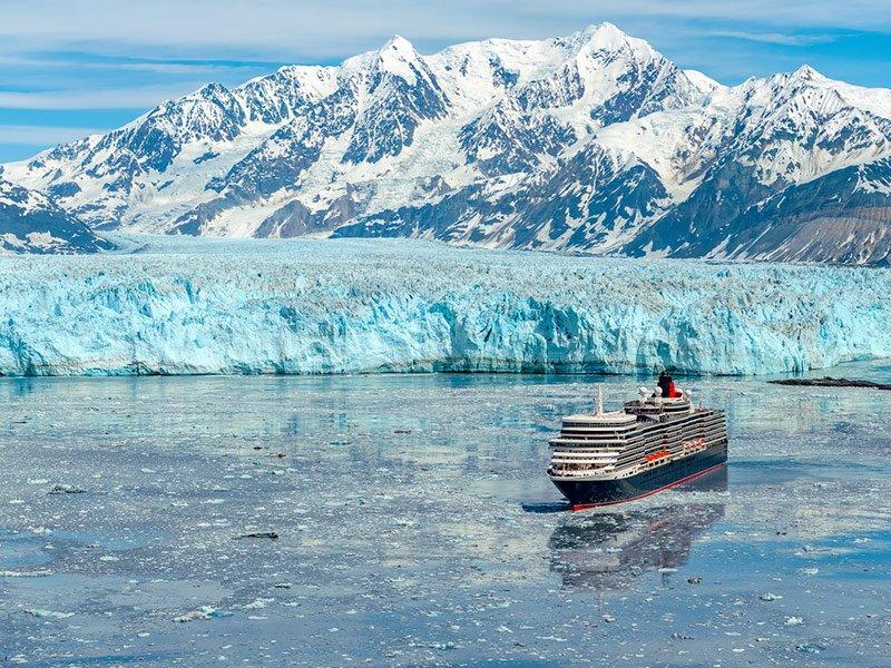 Razones Cunard para viajar a Alaska